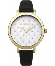Oasis B1577 reloj de pulsera de caucho negro damas