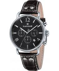 Thomas Earnshaw ES-8001-08 reloj cronógrafo de cuero marrón para hombre del investigador