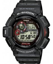 Casio G-9300-1ER Mens g-shock sensor de doble reloj alimentado por energía solar