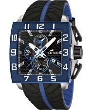Lotus 15773-1 Para hombre reloj cronógrafo negro azul