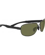 Serengeti Norcia negro gafas de sol polarizadas 555nm