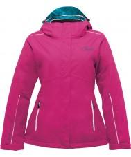 Dare2b DWP321-1Z006L Damas asimismo eléctrica chaqueta de esquí de color rosa - tamaño 6