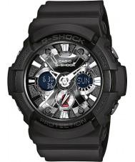 Casio GA-201-1AER reloj cronógrafo para hombre negro g-shock tiempo del mundo