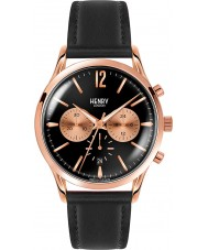 Henry London HL41-CS-0042 Mens Richmond reloj cronógrafo negro