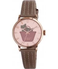 Radley RY2346 marsupial señoras de la frontera y correa de reloj de rosa oscuro