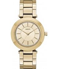 DKNY NY2286 Señoras de oro Stanhope plateado reloj pulsera