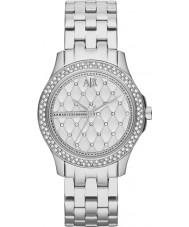Armani Exchange AX5215 reloj del vestido de la pulsera de acero de plata damas