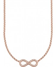 Thomas Sabo KE1312-416-14 Señoras 18k chapado en oro rosa collar infinito