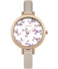 Oasis B1578 reloj de pulsera de caucho de bronce damas