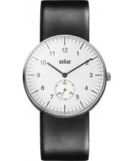 Braun BN0024WHBKG Reloj para hombre negro blanco