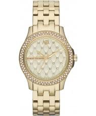 Armani Exchange AX5216 Damas chapado en oro pulsera de reloj de vestir