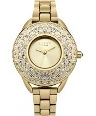 Lipsy LP443 Chapado en oro de las señoras reloj pulsera de la aleación