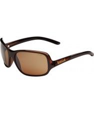 Bolle Kassia brillante de chocolate gafas de sol polarizadas de armas de piedra arenisca
