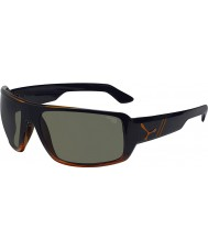 Cebe gafas de sol de color naranja maorí de carey