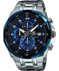 Casio EFR-539D-1A2VUEF Para hombre reloj cronógrafo edificio azul plata