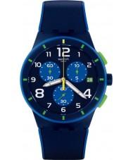 Swatch SUSN409 Bleu sur bleu reloj