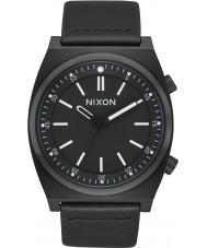 Nixon A1178-001 Reloj de cuero de la brigada del Mens