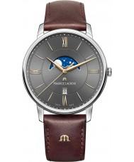 Maurice Lacroix EL1108-SS001-311-1 Mens Eliros reloj de la correa de cuero marrón