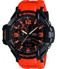 Casio GA-1000-4AER reloj de neón-iluminador de sensor doble para hombre g-shock