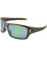 Oakley Oo9263-09 turbina de humo gris - jade iridio gafas de sol polarizadas