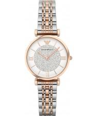 Emporio Armani AR1926 Las señoras reloj de vestir en dos tonos de acero