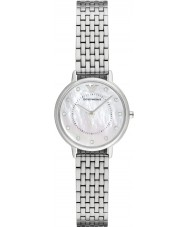 Emporio Armani AR2511 Vestido de las señoras reloj de pulsera de acero de plata