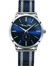 Thomas Sabo WA0268-281-209-42mm Para hombre de espíritu rebelde reloj pulsera de malla de dos tonos