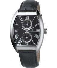 Thomas Earnshaw ES-8004-01 Reloj para hombre de la correa de cuero negro multifuncional holborn