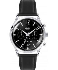 Henry London HL41-CS-0023 Para hombre reloj cronógrafo negro Edgware