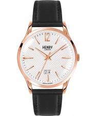 Henry London HL41-JS-0038 Mens Richmond textura reloj negro blanco
