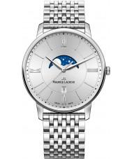 Maurice Lacroix EL1108-SS002-110-1 Mens Eliros reloj de plata brazalete de acero