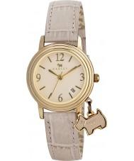Radley RY2300 Damas darlington reloj correa de piel de caramelo