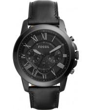 Fossil FS5132 Mens conceden reloj cronógrafo negro