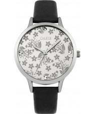 Oasis B1584 reloj de pulsera de caucho negro damas