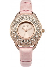 Lipsy LP446 Rosa de las señoras reloj de la correa de cuero