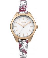 Oasis B1581 Damas multicolor reloj de la correa de caucho