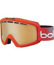 Bolle 21464 gafas de esquí arma cítricos modulador - gradiente de color rojo mate Nova II