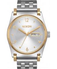 Nixon A954-1921 Jane damas de acero de plata reloj pulsera
