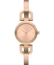 DKNY NY8542 Reade damas subieron reloj de oro
