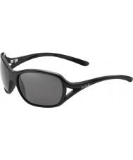 Bolle Solden negro brillante polarizado gafas de sol tns