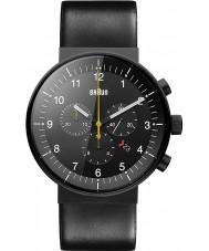 Braun BN0095BKG Para hombre de prestigio reloj cronógrafo negro