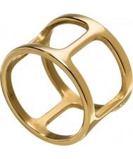 Edblad 3153441913-XL Señoras de oro amarillo anillo plateado de Helena - tamaño de s (x)