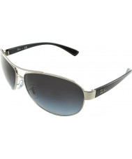 RayBan Rb3386 63 gafas de sol de plata 003-8g estilo de vida activo