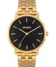 Nixon A1057-2042 Para hombre chapado en oro porter reloj pulsera