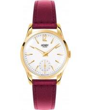 Henry London HL30-US-0060 Damas Holborn reloj borgoña blanco