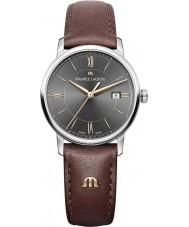 Maurice Lacroix EL1094-SS001-311-1 Damas Eliros reloj de la correa de cuero marrón