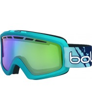 Bolle 21466 Nova mate ii degradado azul - verde esmeralda gafas de esquí