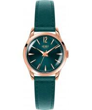 Henry London HL25-S-0128 Damas stratford reloj de color verde pato silvestre