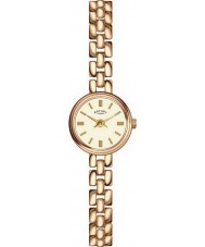 Rotary LB02543-03 Relojes de oro reloj chapado