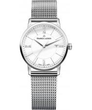 Maurice Lacroix EL1094-SS002-110-2 Damas Eliros reloj de plata brazalete de acero